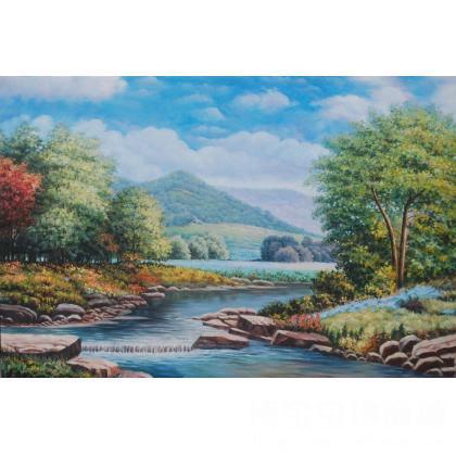 名家 杜海燕 油画; - 杜海燕 临摹风景 类别: 风景油画x